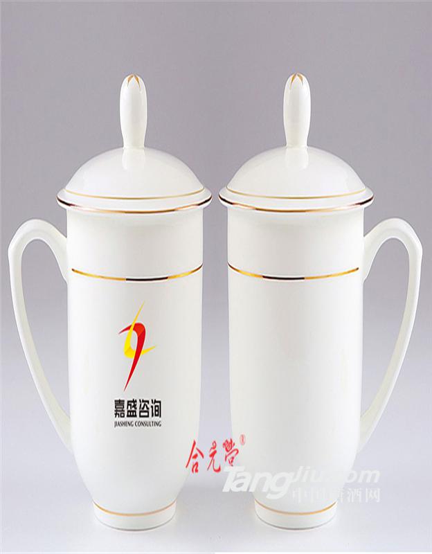 供应会议礼品茶杯定制加字 景德镇陶瓷茶杯