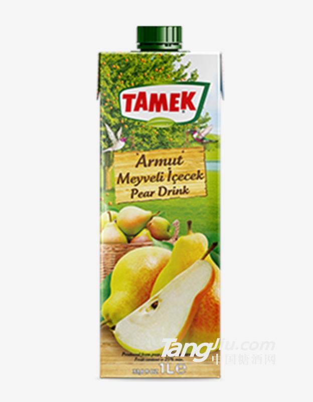 荅梅肯TAMEK梨汁25%