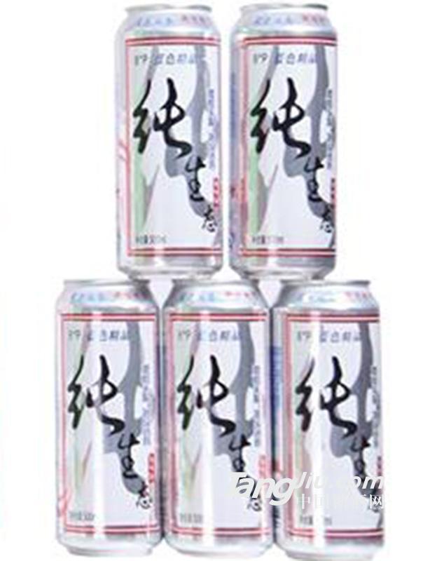 纯生态 啤酒 500ml