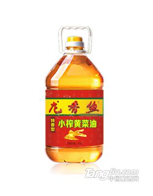 龙香鱼小榨黄菜油5L