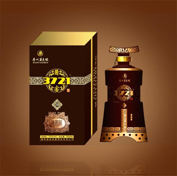 酱香型白酒-酱窖3721十五年珍藏版