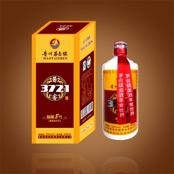 酱香型白酒-酱窖3721精酿8号