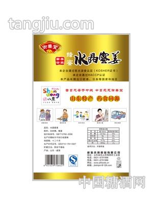 蜂蜜水晶蜜姜120克背