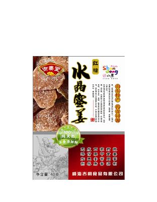 红糖水晶蜜姜40g.