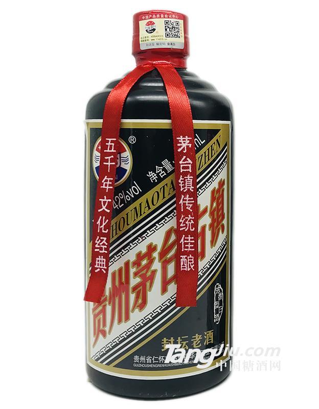 42°贵州茅台古镇封坛老酒-500ml