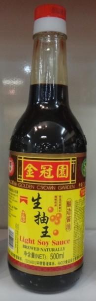福建泉州金冠园生抽王酱油