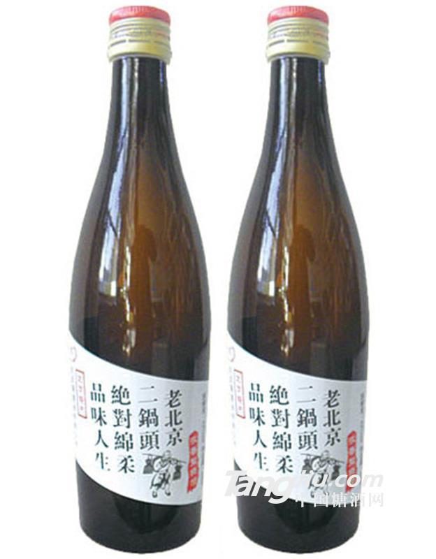 老北京42°二锅头酒248ml(白标)
