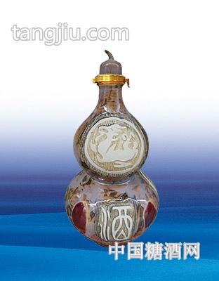 陶瓷酒坛吉祥如意4000ml