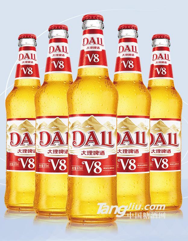 大理啤酒-V8-470ml