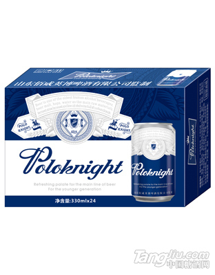 保罗骑士啤酒蓝箱