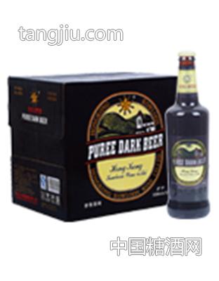香港九龍麥香黑啤500mlx12瓶.
