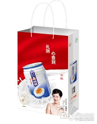 六仁炒核桃马蹄罐手提袋