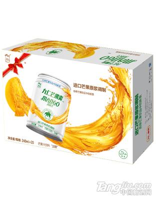 九仁芒果爽芒果汁箱皮