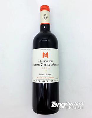 十字木桐古堡珍藏干红葡萄酒