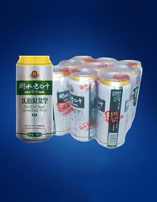 衡水老白干原浆啤酒500mlx9
