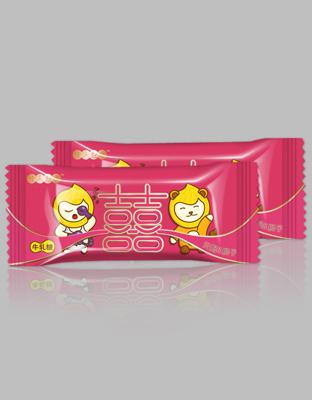 喜糖效果图配对-海棠红-牛轧糖