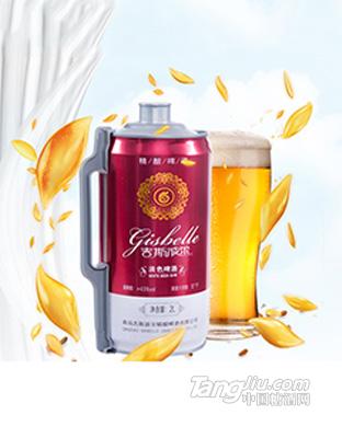 吉斯波尔-精酿白啤-1L