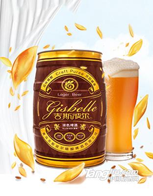 吉斯波尔-精酿黄啤-1L