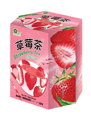 樱花草莓茶