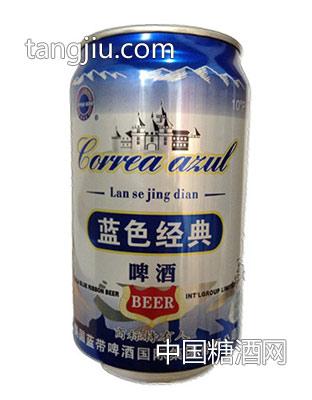 蓝带啤酒-蓝色经典啤酒易拉罐