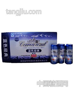 蓝带啤酒-蓝色经典易拉罐500ml