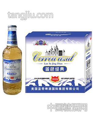 蓝带啤酒-蓝色经典335mlx24