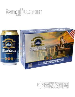 蓝带啤酒-蓝色经典1879啤酒320ml