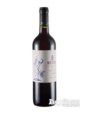 牧师美乐干红葡萄酒