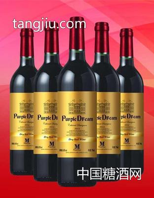 梦幻金标红葡萄酒