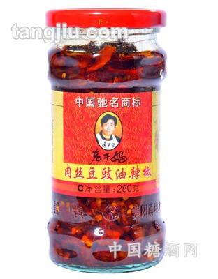 肉丝豆豉油辣椒280g