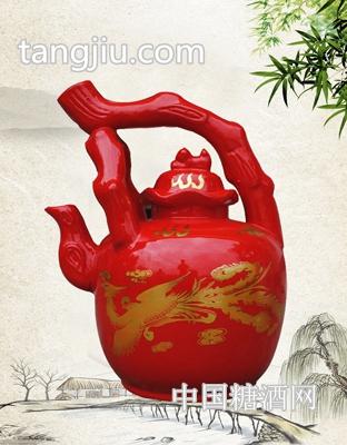 老酒坊十斤酒壶红坛
