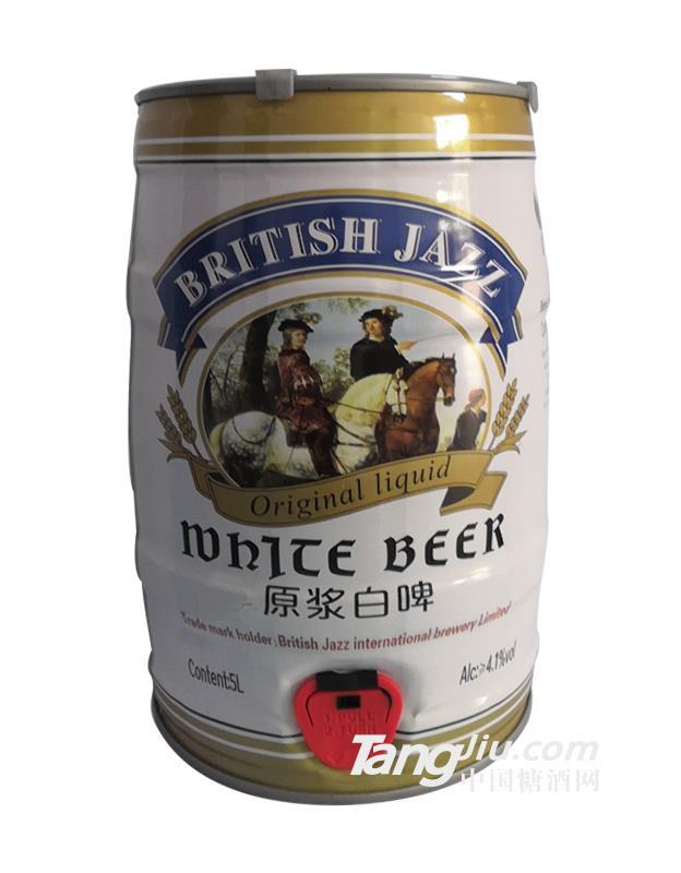 美国凯撒精酿原浆白啤-5L