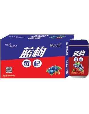 云之花蓝莓枸杞饮料330ml