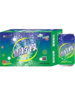 云之花雪柠檬饮料330ml