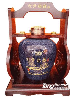 老李窖藏定制酒浓香八年限量版2.5L