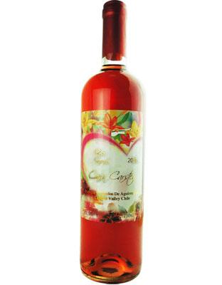智利卡斯藤西拉桃红葡萄酒结婚用酒