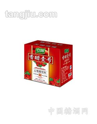 香醋壹号山楂醋666ml瓶装外箱