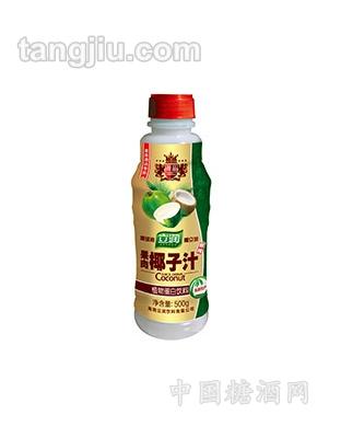 500ml瓶装(吉祥如意)立润果肉椰子汁