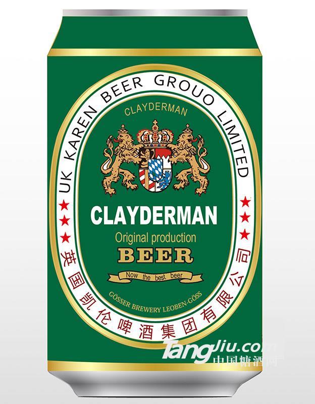 英国凯伦啤酒330ml(绿)