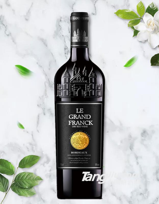 弗朗克老藤干红葡萄酒