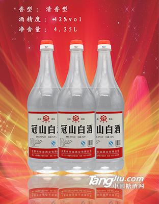 42°冠山白大瓶子4.25L