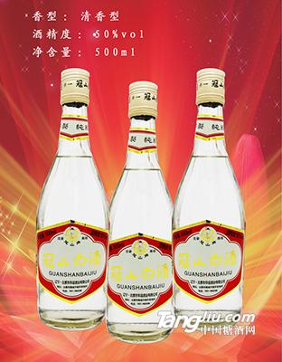50°冠山白酒500ml