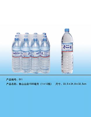 鲁山山泉-1500毫升(1x12瓶)