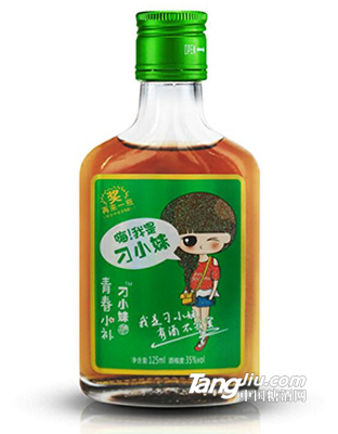 42°-刁小妹绿标保健酒-125ml