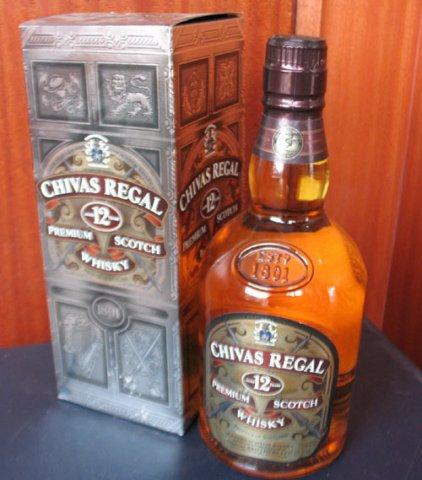芝华士12年威士忌