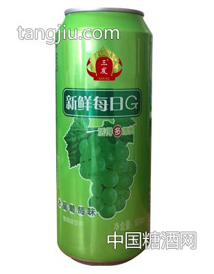 水晶葡萄味饮料500ml