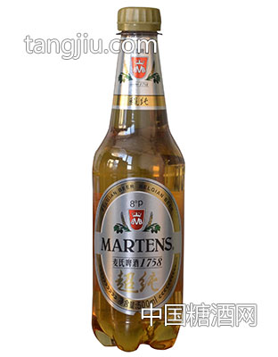 麦氏啤酒1758超纯啤酒500ml