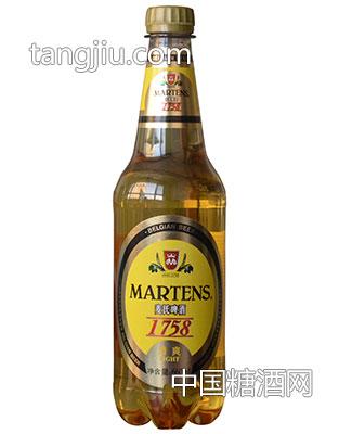 麦氏啤酒1758清爽啤酒660ml