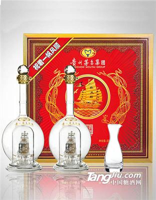 """贵州茅台集团贵州老窖工艺礼品酒""""一帆风顺"""""""