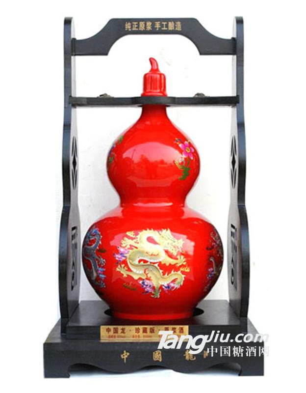 梦井坊红色葫芦瓶